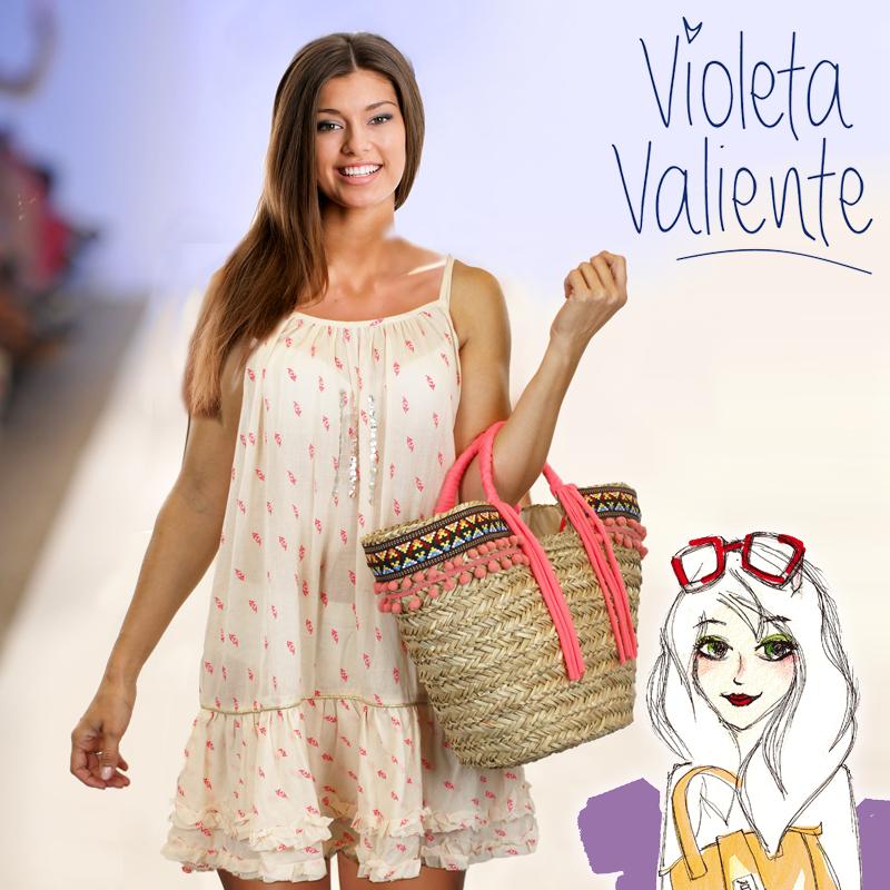 Kaftan Violeta