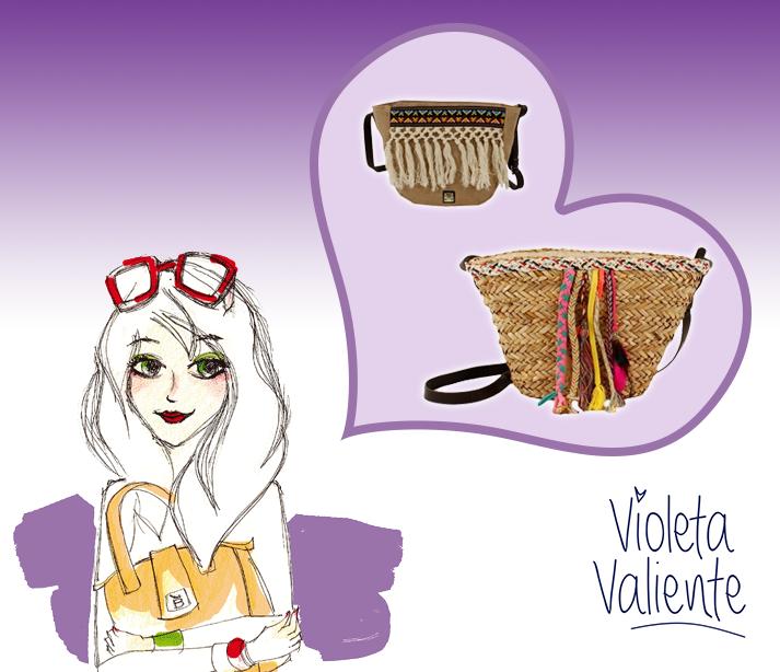 violeta valiente