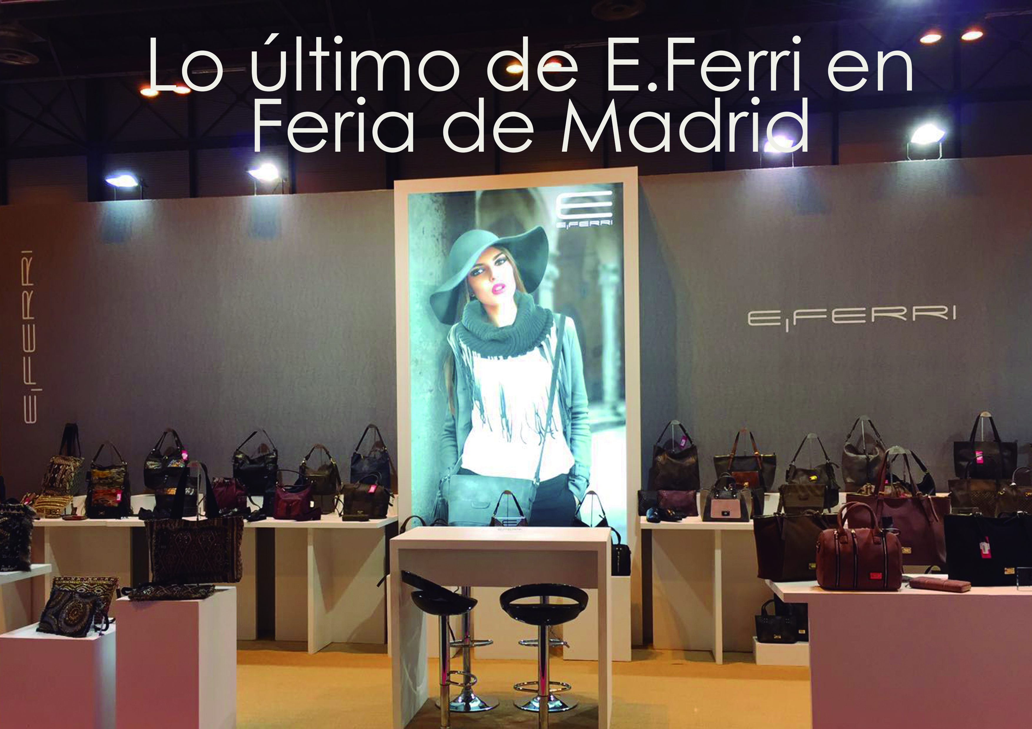 Stan E.Ferri en Bisutex Feria de Madrid