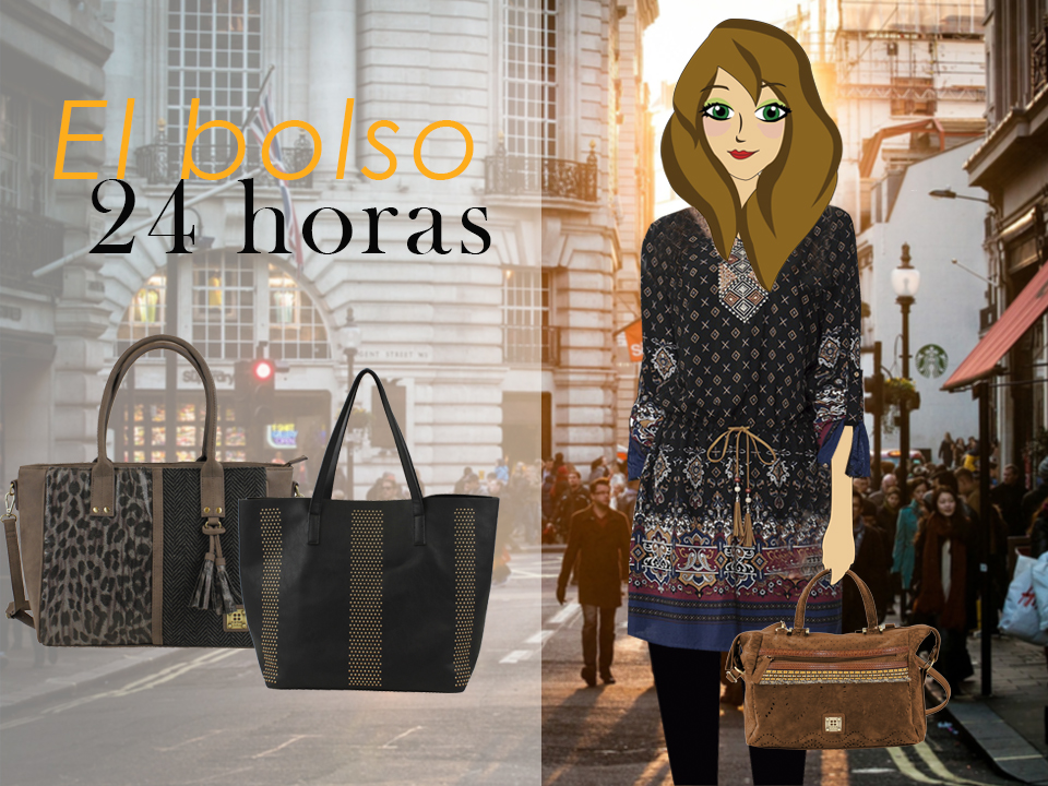 Bolsos FOR TIME y la fashion blogger Violeta Valiente