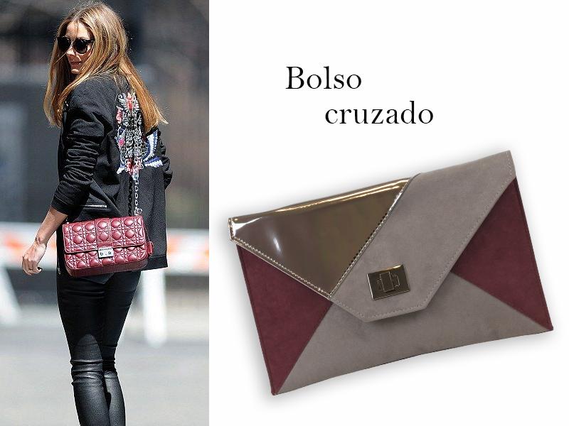 Streetstyle de Olivia Palermo con bolso cruzado