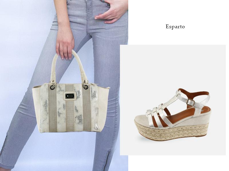 Bolso y zapatos de la colección primavera verano 2017 de E.Ferri