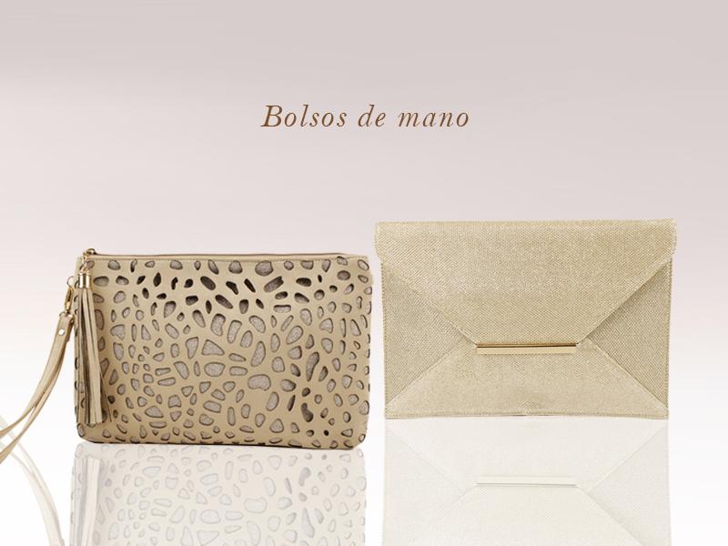 Bolso de mano de la colección Glamour de E.Ferri