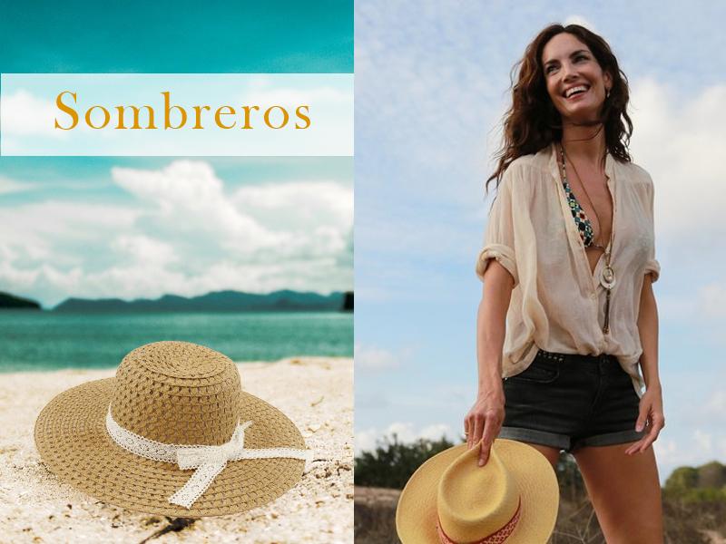 Eugenia Silva y sombrero de FOR TIME