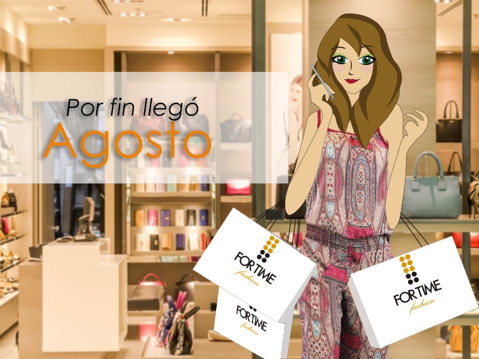 La fashion blogger Violeta Valiente en rebajas