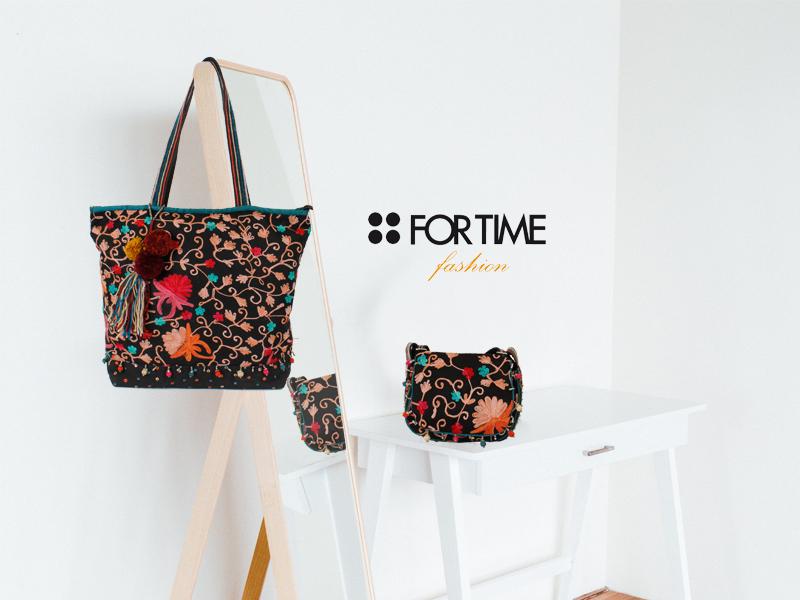 Bolsos de la nueva colección otoño invierno 2018 de FOR TIME