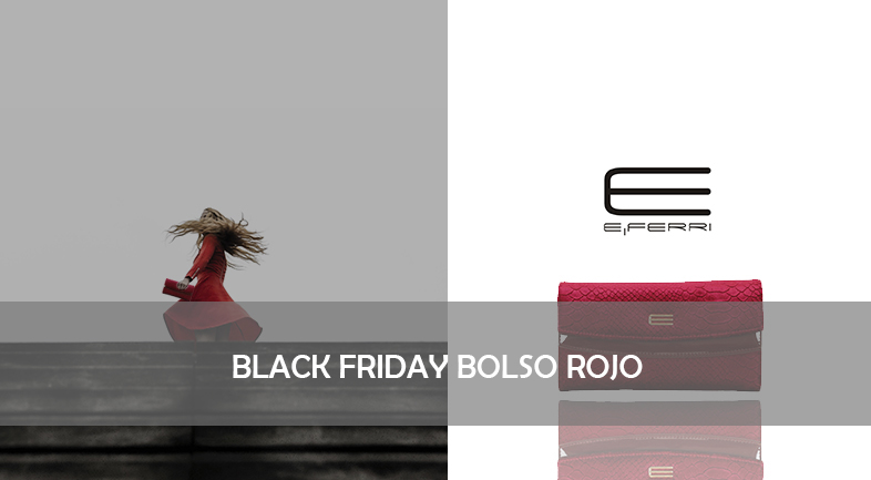 BLACK FRIDAY BOLSO ROJO