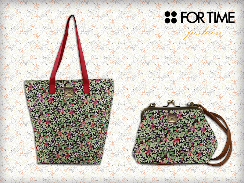 bolsos estampados florales for time