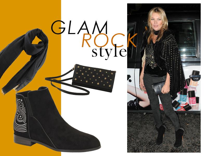 Accesorios y complementos estilo Glam Rock