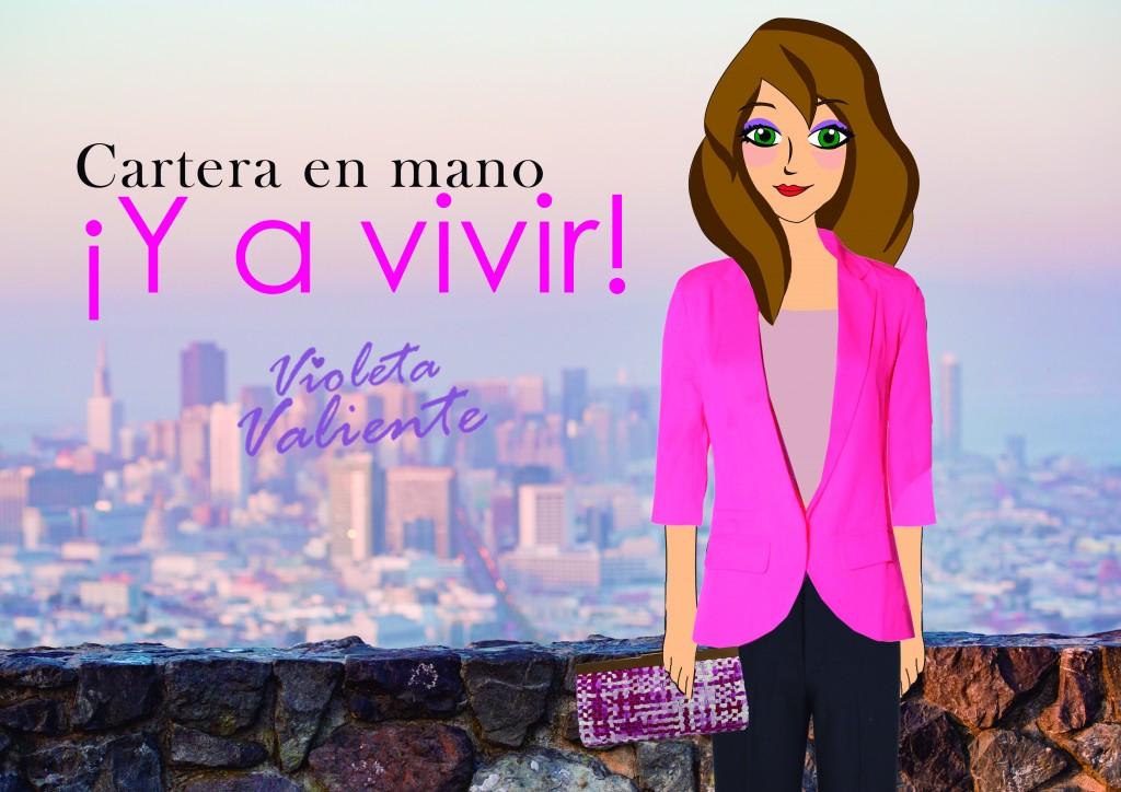 La fashion blogger Violeta Valiente con bolso de E.Ferri