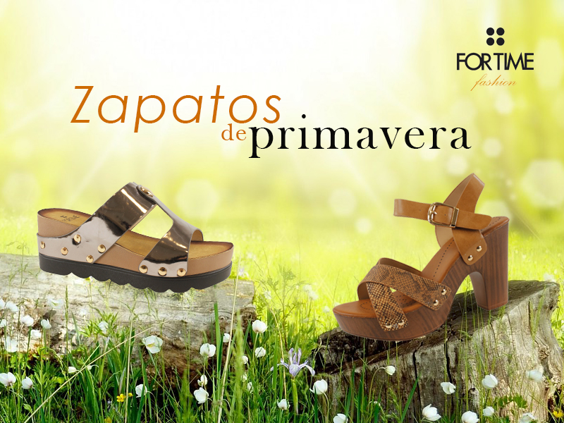 Zapatos de la colección primavera verano 2017 de E.Ferri