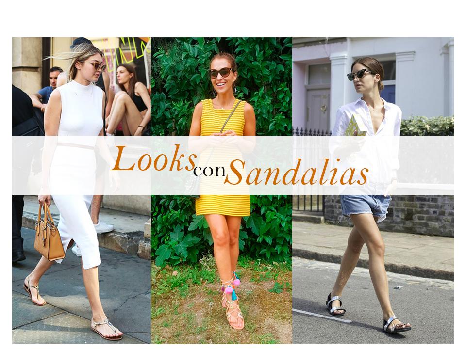 Looks con sandalias