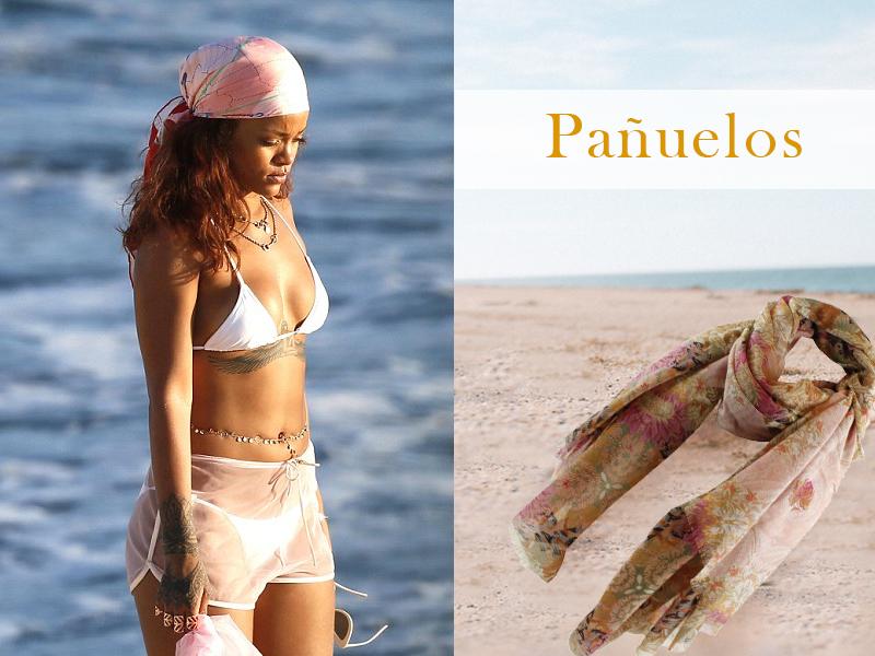 Rihanna y pañuelo de FOR TIME