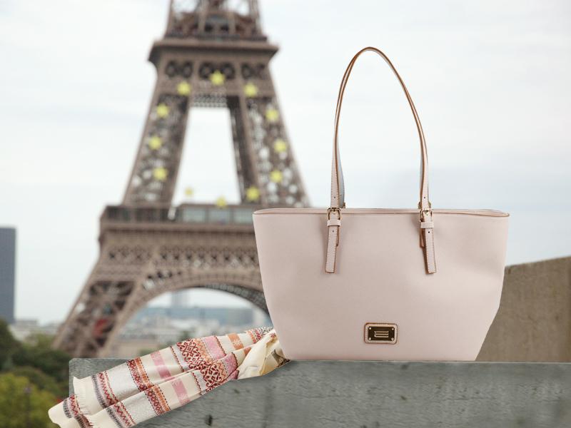 Bolso Fashion y pañuelo de E.Ferri