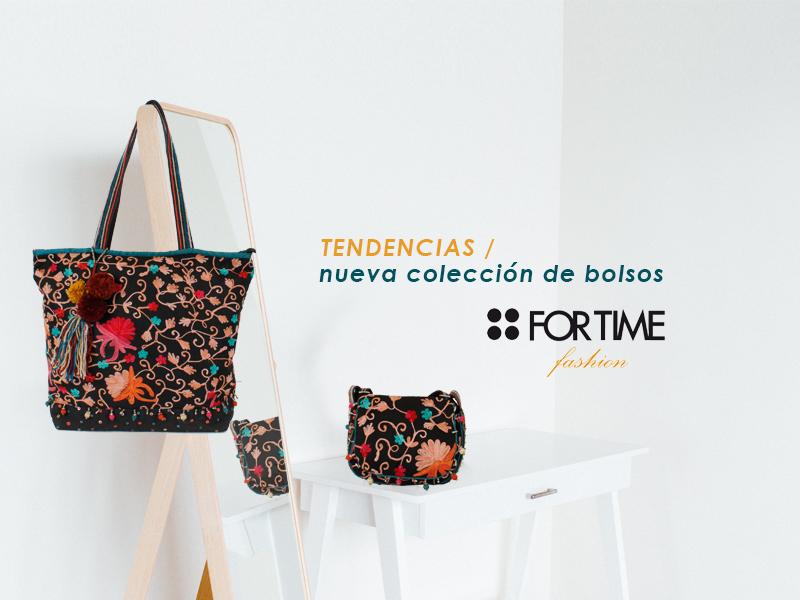 Tendencias: Nueva colección de bolsos FOR TIME