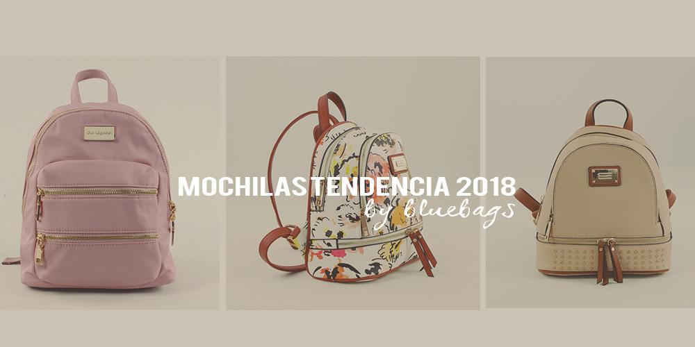 Las mochilas, la nueva tendencia 2018